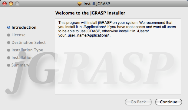 Java 7 and jGRASP 2 0 install instructions | Garfield