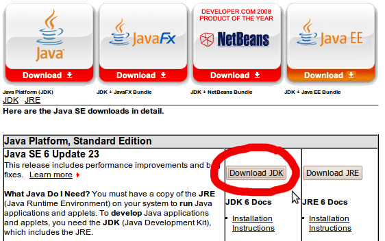 Jdk 6 update 7 free download