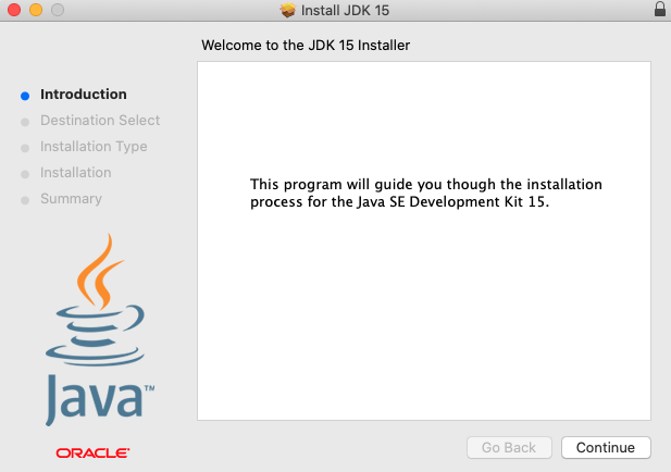 Installing the JDK