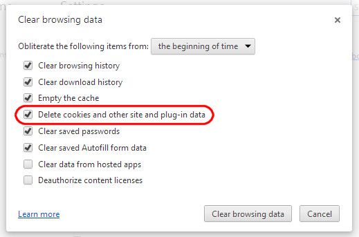 how to clear individual cookies in chrome