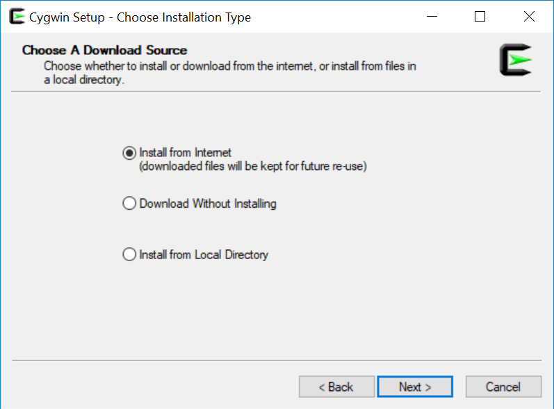 Installing and using Cygwin