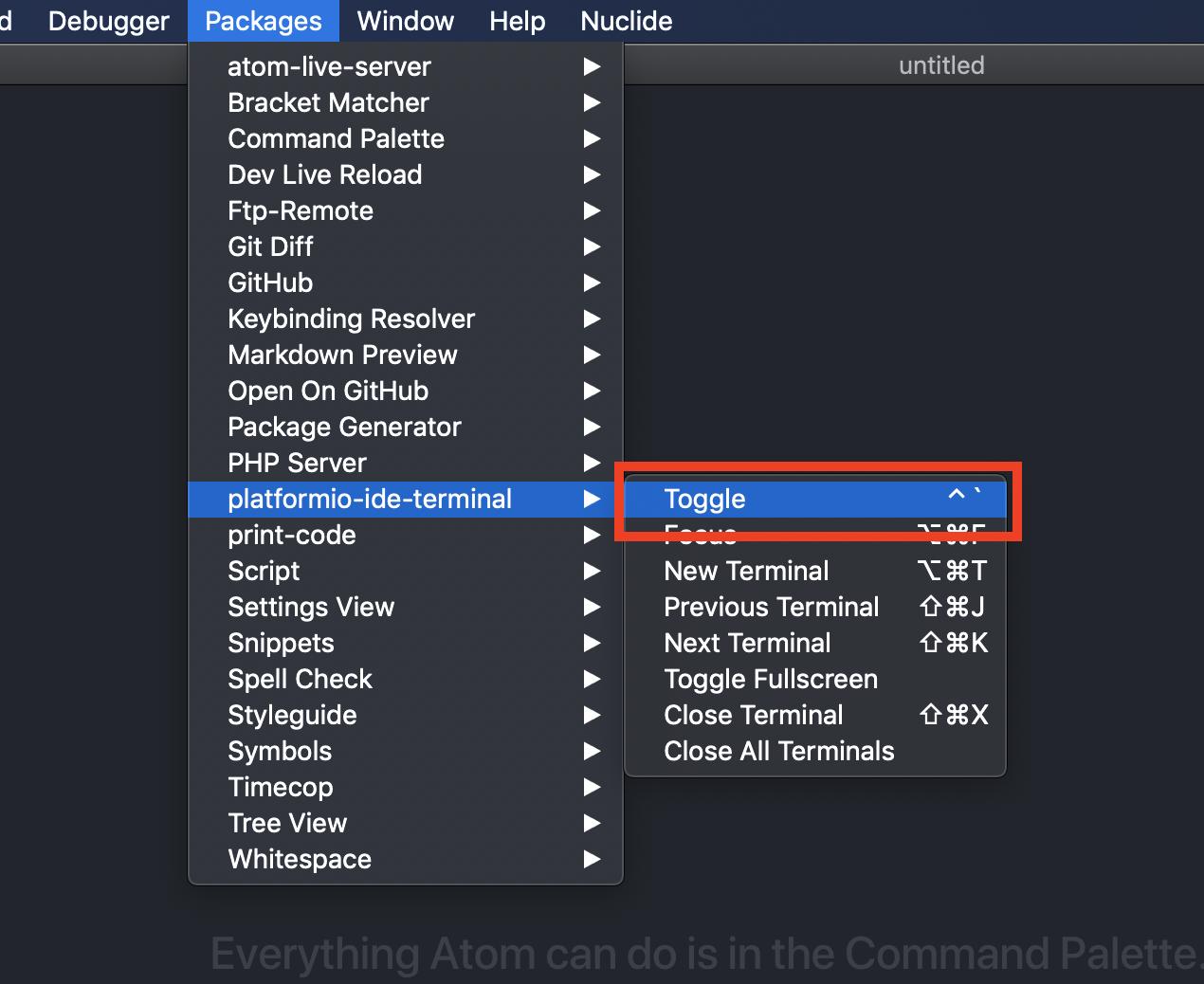 Git and Atom Setup - MacOS