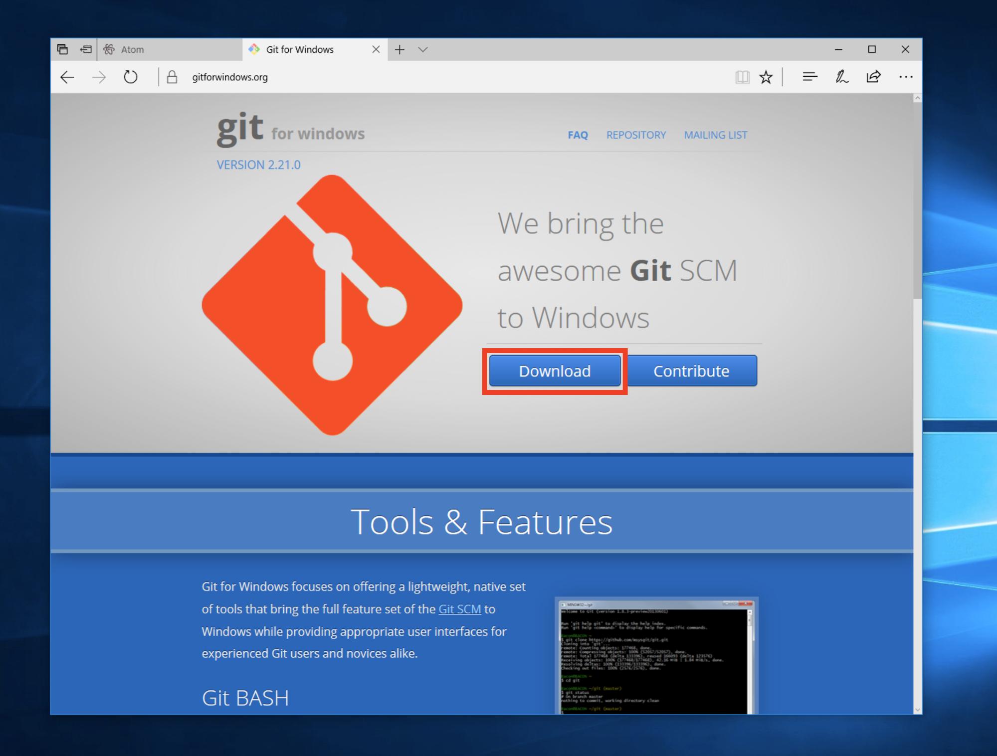 22+ Atom Windows Download  Background