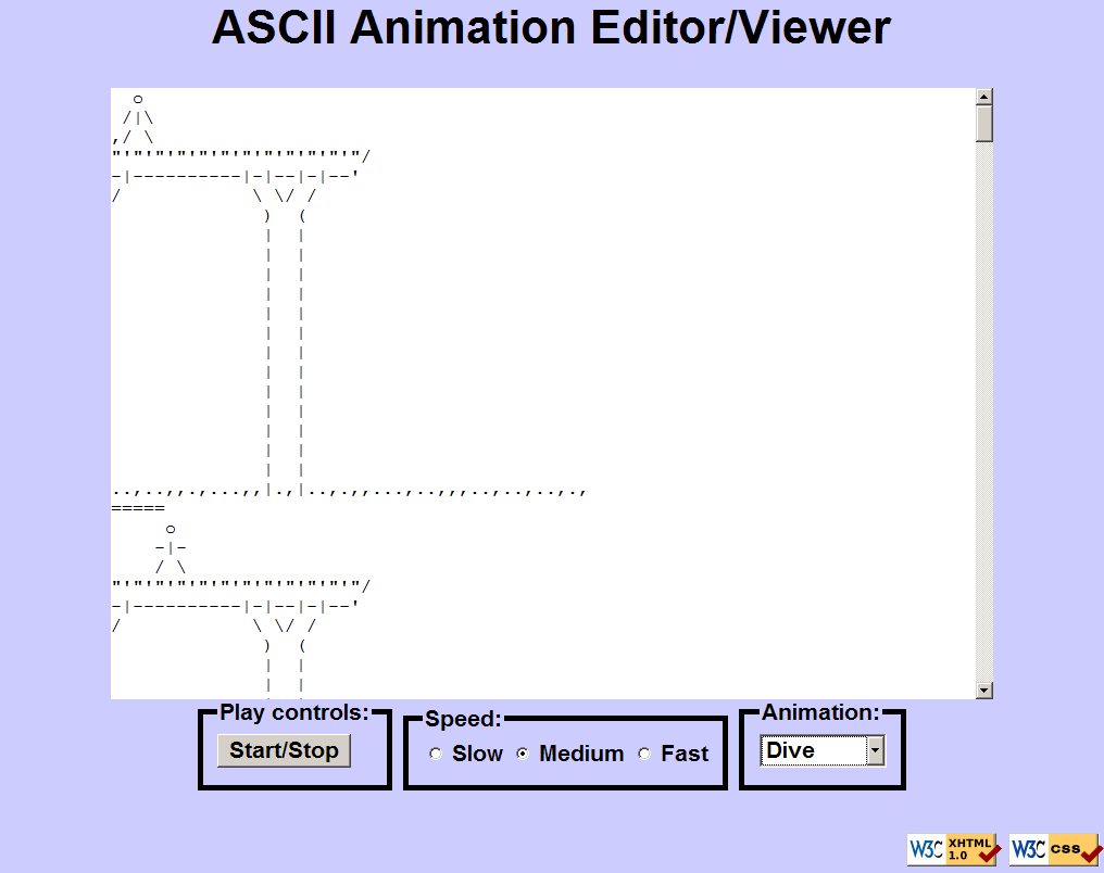 One Line Ascii Art Star Wars : Cse m homework asciimation