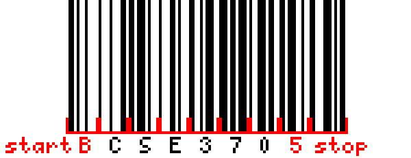 Bar code Encoding