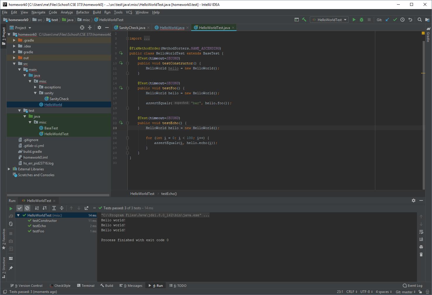 IntelliJ Interface Overview