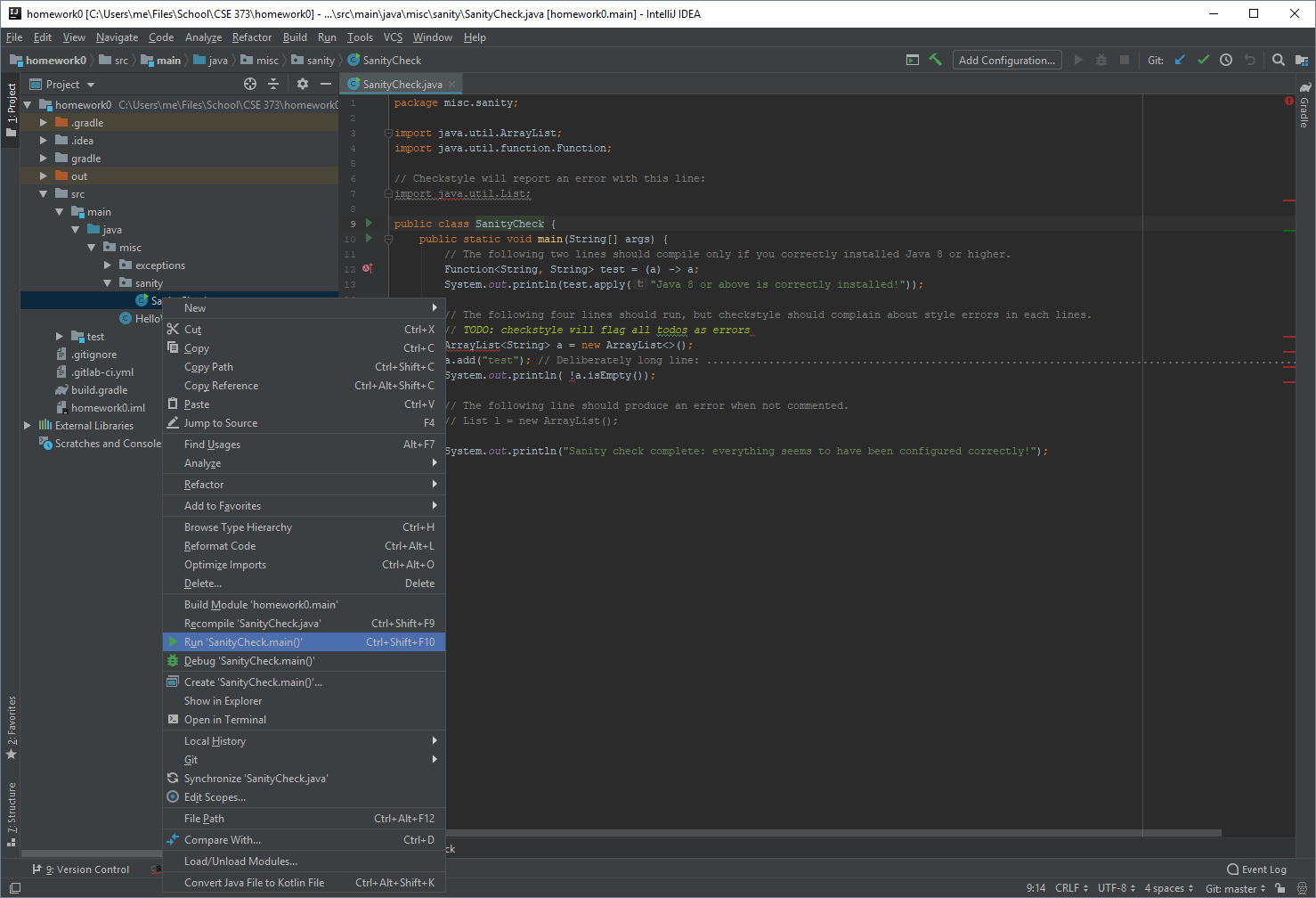 IntelliJ Interface Overview