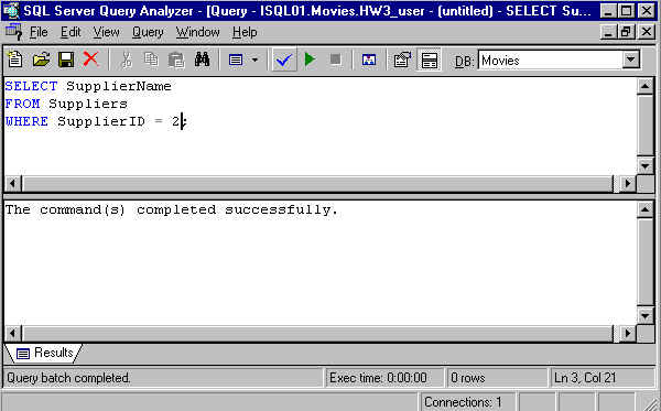 How to write complicated sql queries