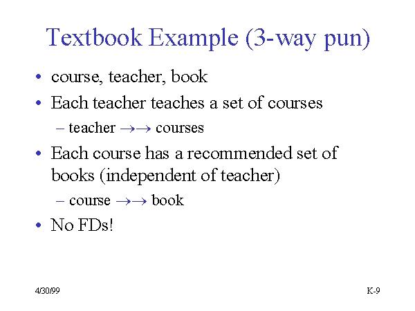 Textbook Example 3 Way Pun