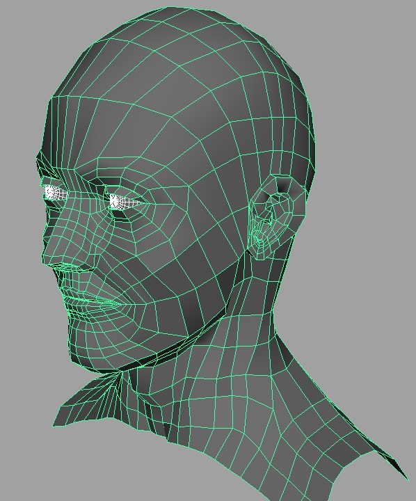 how to clean up mesh in maya