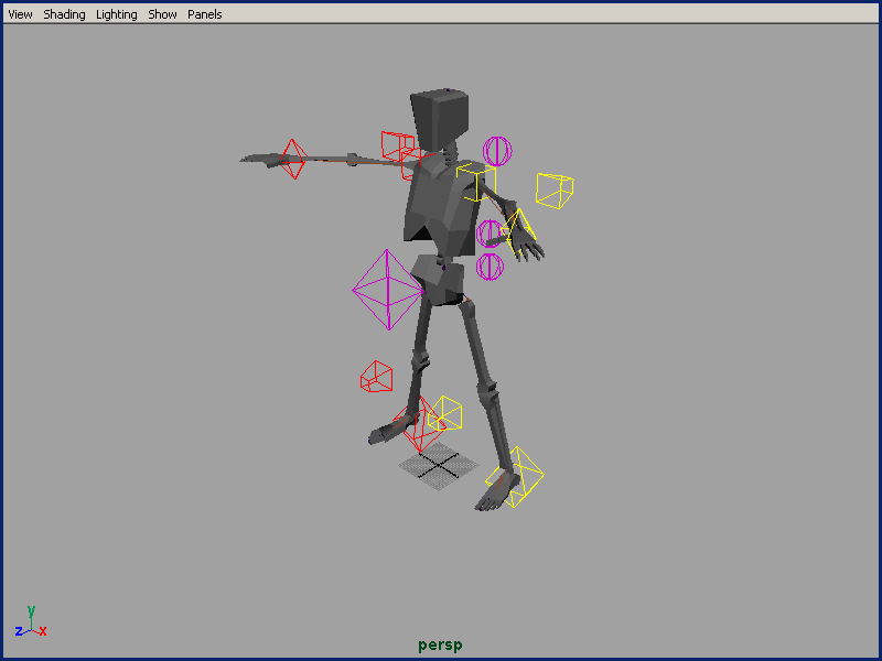 Basic Character Rigging