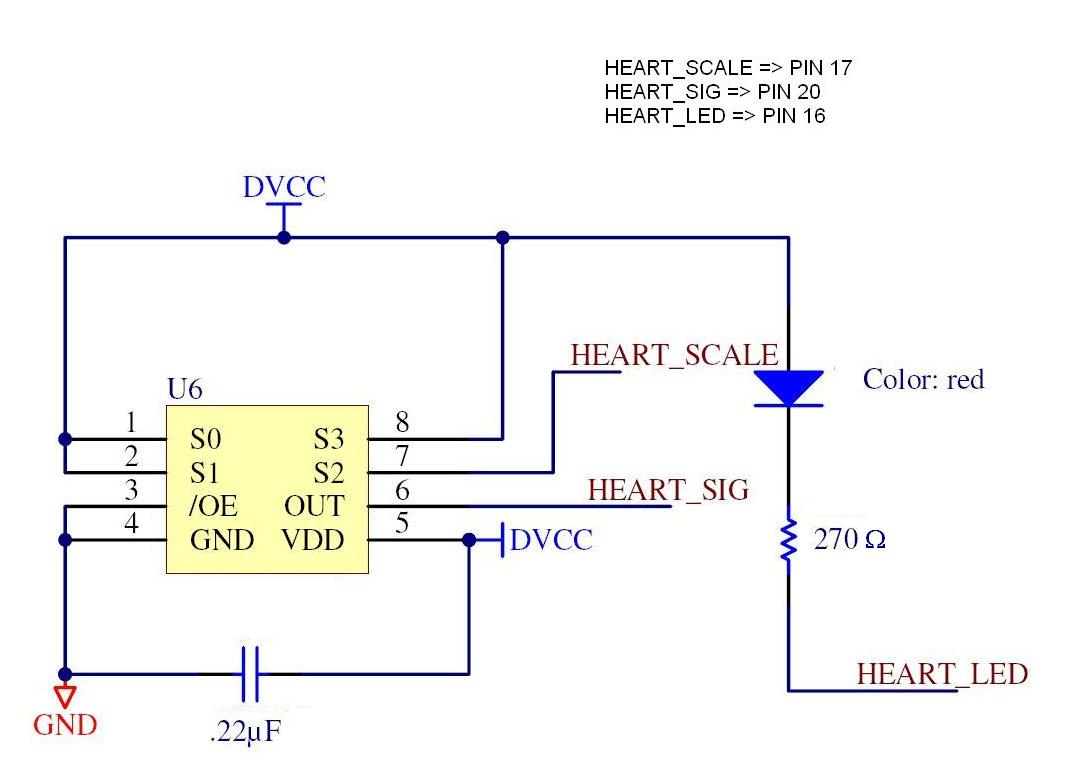 Cse466 Lab 4 Spi Usb Wiring Diagram For Pulse Monitor In The Schematic Should Point Into Your Finger When You Put Over Light Sensor This Uses Levels To Determine