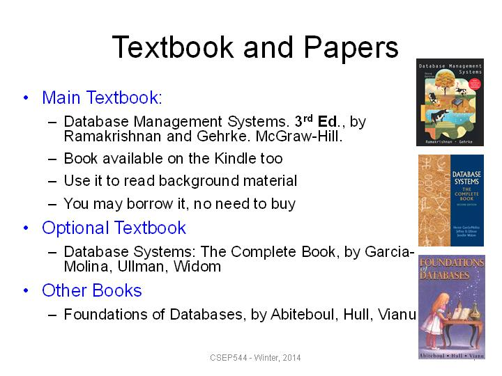 00:05:09 - Textbook and Papers
